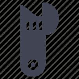 equipment, maintenance, repair, tool, wrench icon