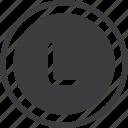 hnl, honduran, lempira, trade icon