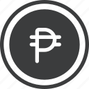 php, business, philippine, peso icon