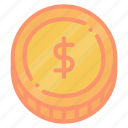 american, dollar, us, usd icon