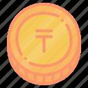 commerce, kazakhstani, kzt, tenge icon
