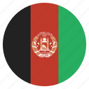 afghan, afghani, afghanistan, country, flag, national icon