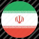 country, flag, iran, iranian icon