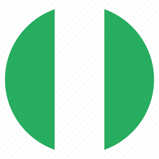 country, flag, national, nigeria, nigerian icon