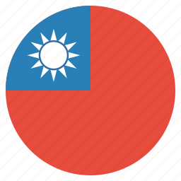 country, flag, national, taiwan, taiwanese icon