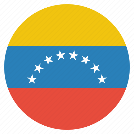 country, flag, national, venezuela, venezuelan icon