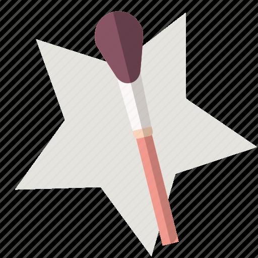 eye shadow, make-up, powder, star, styling, women icon