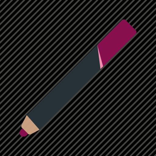 eye, female, lip, makeup, nail, pencil icon
