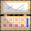 cosmetics, eyes, eyeshadow, makeup icon
