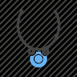chain, diamond, fashion, gold, jewelry, necklace, necklaces icon
