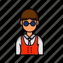 account, avatar, male, profile