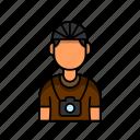 avatar, male, photographer, profile