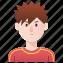 athlete, boy, man, sport, trainer icon
