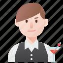 barman, bartender, cocktail, drink, nightclub icon