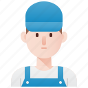 handyman, man, mechanic, repair, technician icon