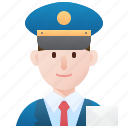 delivery, letters, mailman, messenger, postman icon