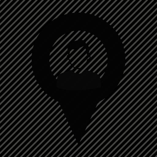 labour, location, men, person, profile, user, worker icon