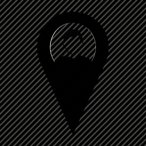 labour, location, male, person, profile, user, worker icon