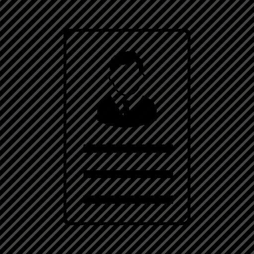 id card, labour, men, person, profile, user, worker icon