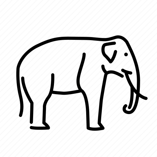 Africa, animal, animals, elephant, mammal, savannah icon - Download on Iconfinder