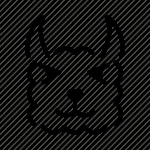 Llma, mammal, alpaca, wildlife icon - Download on Iconfinder