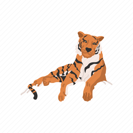 cat, feline, largest cat, mammal, panther, tiger icon