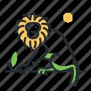 animal, monkey, species, tamarin icon