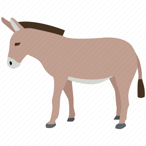 animal, democratic, democrats, donkey, farm, mule, vote icon