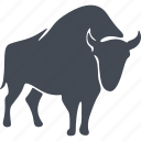 animal, aurochs, mammals, wild icon