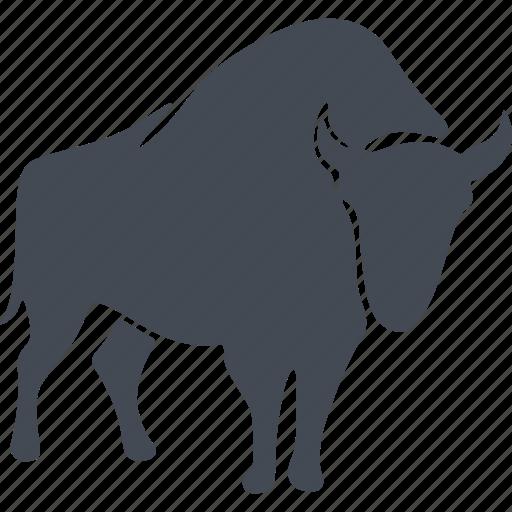 animal, aurochs, mammals, wild icon