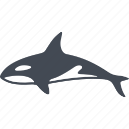 mammal, mammals, predator, shark icon