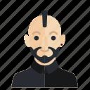 avatar, boy, man, occupation, smile icon