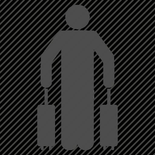 arrival, baggage, departure, luggage, passenger, tourism, tourist icon