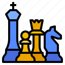 chess, management, planning, strategic, strategy icon