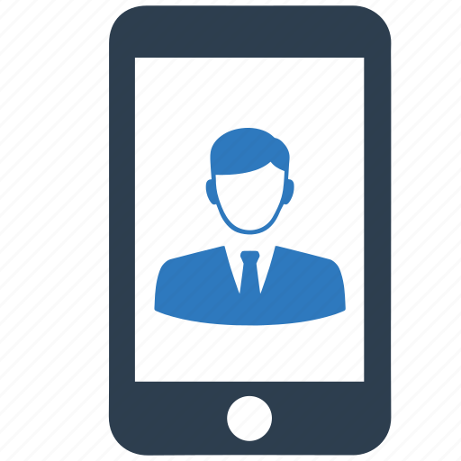 mobile phone, phone, selfie, smartphone, telephone, user, video call icon