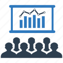 analysis, business, chart, graph, presentation, statistics icon