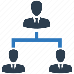 business, employee, hierarchy, manager icon
