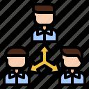 cooperation, liaison, communication, relationship, organisation, team
