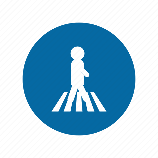 crossing, factory, industrial, instruction, mandatory, safety, signs icon