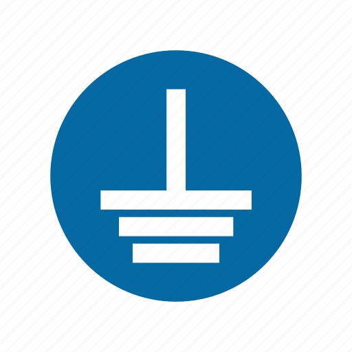 factory, ground, industrial, instruction, mandatory, safety, signs icon