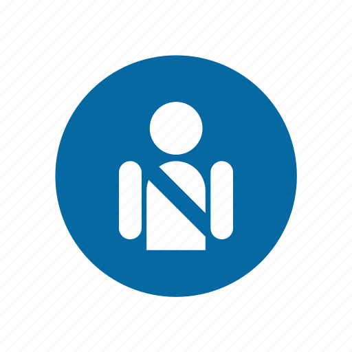 factory, industrial, instruction, mandatory, safety, safety belt, signs icon