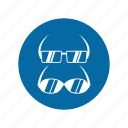 eye glass, factory, industrial, instruction, mandatory, safety, signs icon