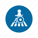 factory, handicap, industrial, instruction, mandatory, safety, signs icon