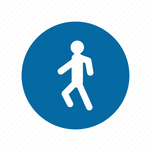 factory, industrial, instruction, mandatory, safety, signs, walk icon