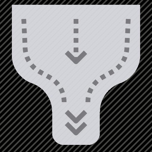 analysis, bottleneck, capacity, manufacturing, production icon
