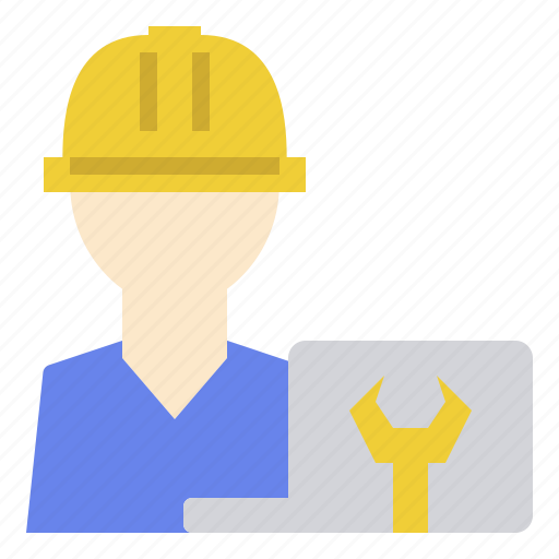 developer, engineering, manager, manufacturing, production icon
