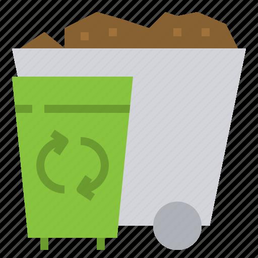 alternative, elimination, energy, power, product, recycle, waste icon
