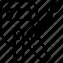factory, welding, workshop icon