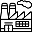 factory, industry, workshop icon