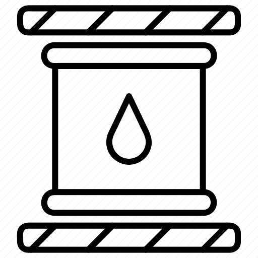 barrel, chemical, oil, oil refinery, petrol icon